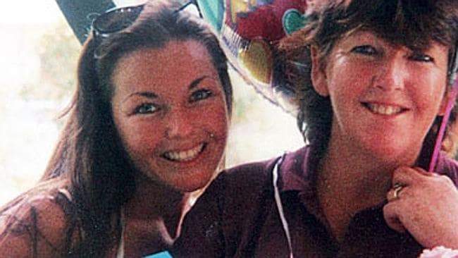 Family's heartbreak ... Shapelle Corby with her mother on Mother's Day in 1999.