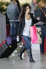 <p>Ada Nicodemou leaving Melbourne Airport May 4th 2010 Picture: Oceanic</p>