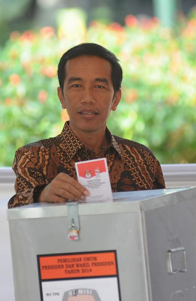 Tough stance ... the executions were the first carried out by Indonesian President Joko Widodo.