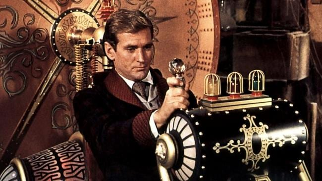 Rod Taylor played the lead in the 1960 sci-fi film The Time Machine. Picture: MGM