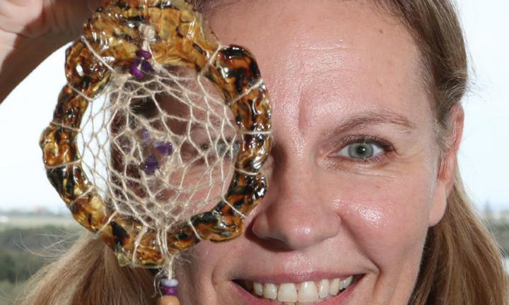 'Some people think it is gross': Mum turns umbilical cords into dreamcatchers