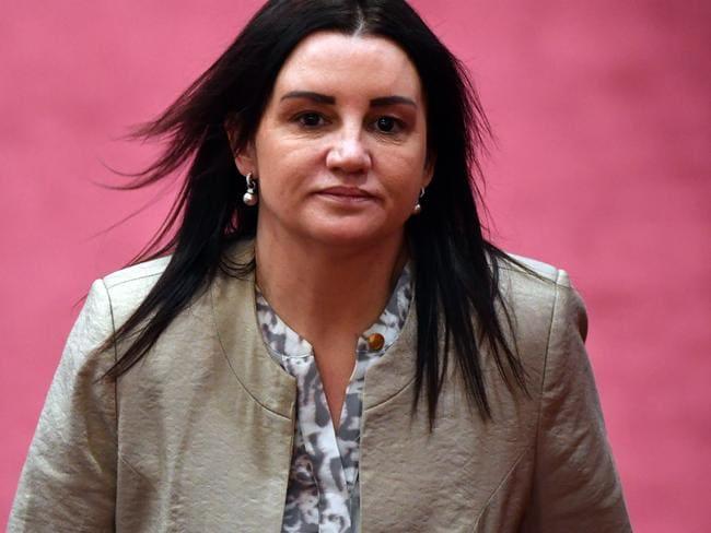 Tasmanian Senator Jacqui Lambie will resign today. Picture: Mick Tsikas/AAP
