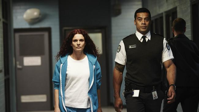 Strange pair: Mr Jackson was the screw Bea Smith didn't screw