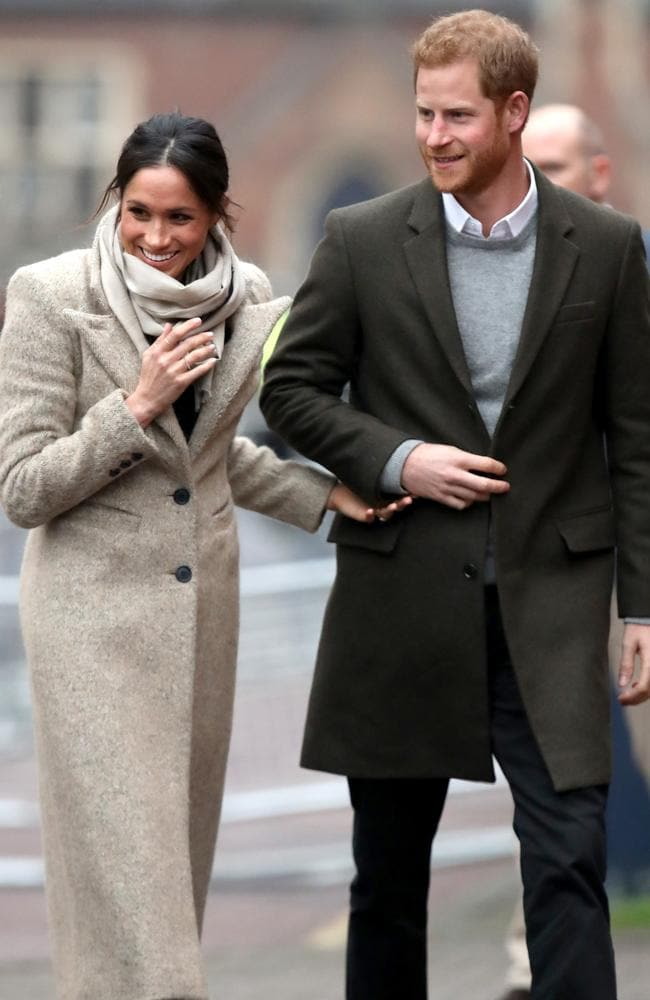The Suits star and Prince will marry in May. Picture: Getty Images