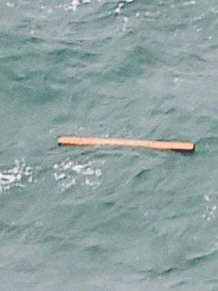 Floating debris spotted in the same area as other items. Picture: Bay Ismoyo