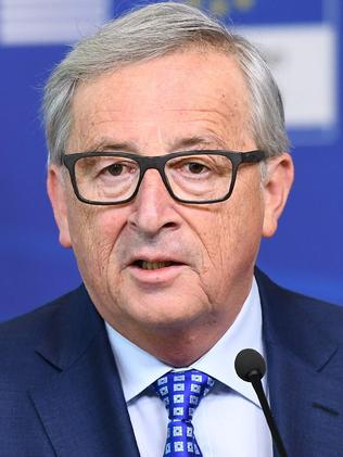 "European Commission President Jean-Claude Juncker said the Sweden attack is ""an attack on us all"". Picture: AFP."