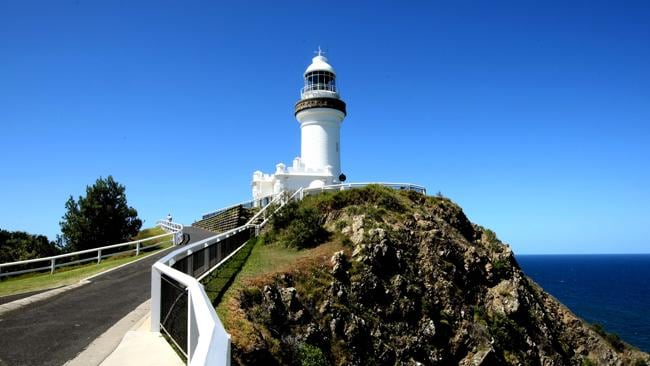 The Cape Byron Lighthouse at Byron Bay