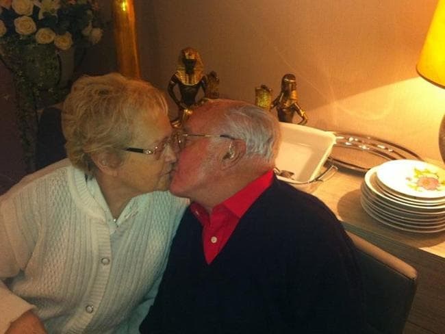 Francis Vermeir and wife Jeanne celebrated their 63rd wedding anniversary in January.