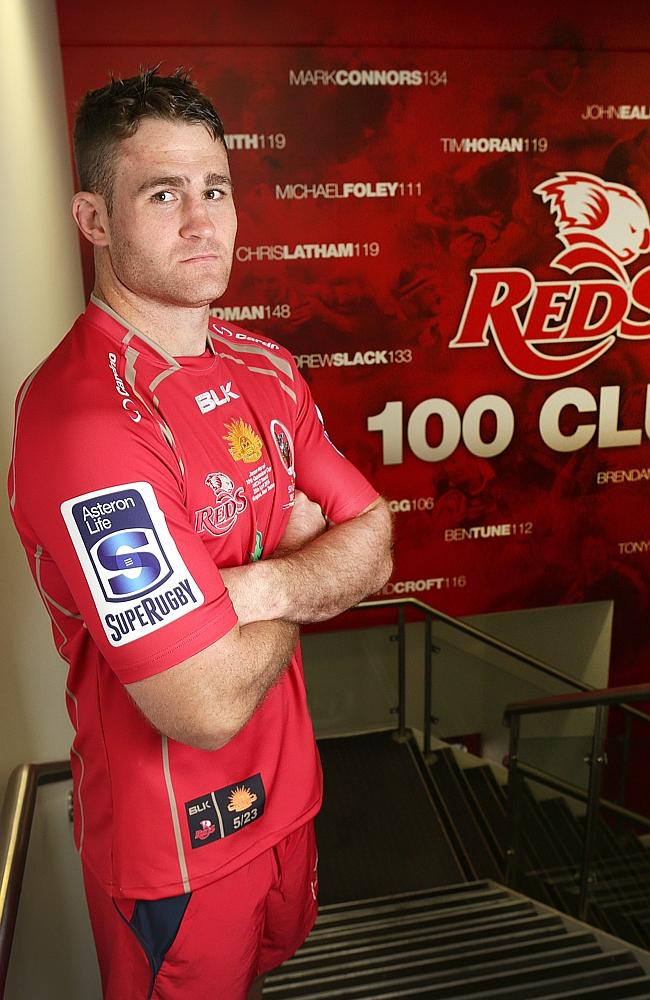 James Horwill will play his 100th game for the Reds.
