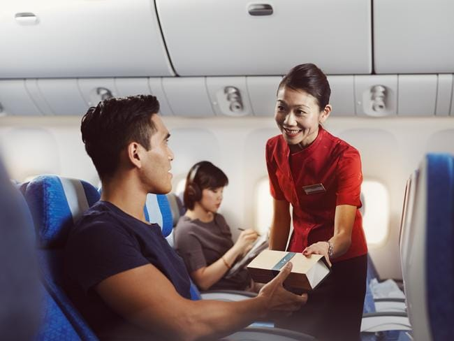 Even economy class passengers will score the airline's latest freebie.