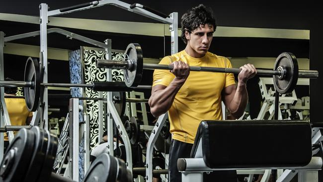 """It's not all right to curl in the squat rack."""