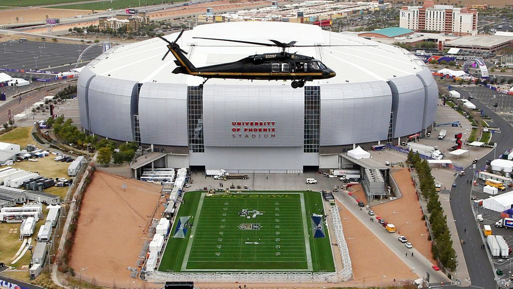 Super Bowl 2015 University Of Phoenix Stadium Is