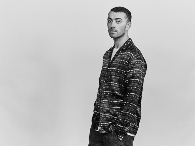 Sam Smith said he's asked questions straight artists would never be. Pic: EMI.