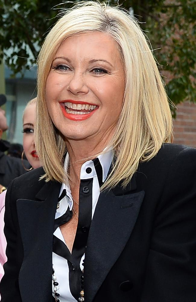 Olivia Newton John will sing the national anthem.