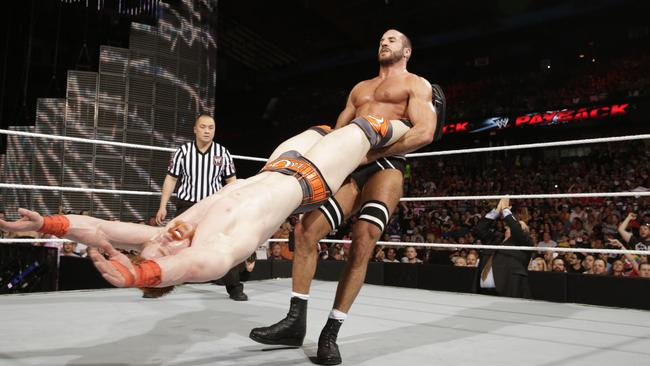 Cesaro in action. Photo: 2014 WWE, Inc. All Rights Reserved.