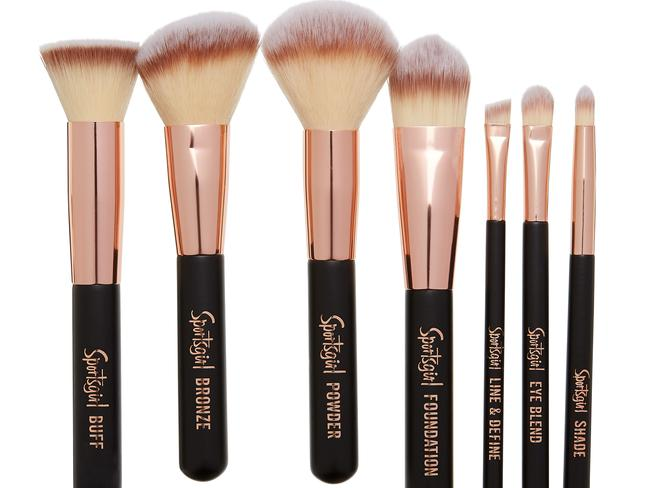 The seven piece brush set retails at $24.95.