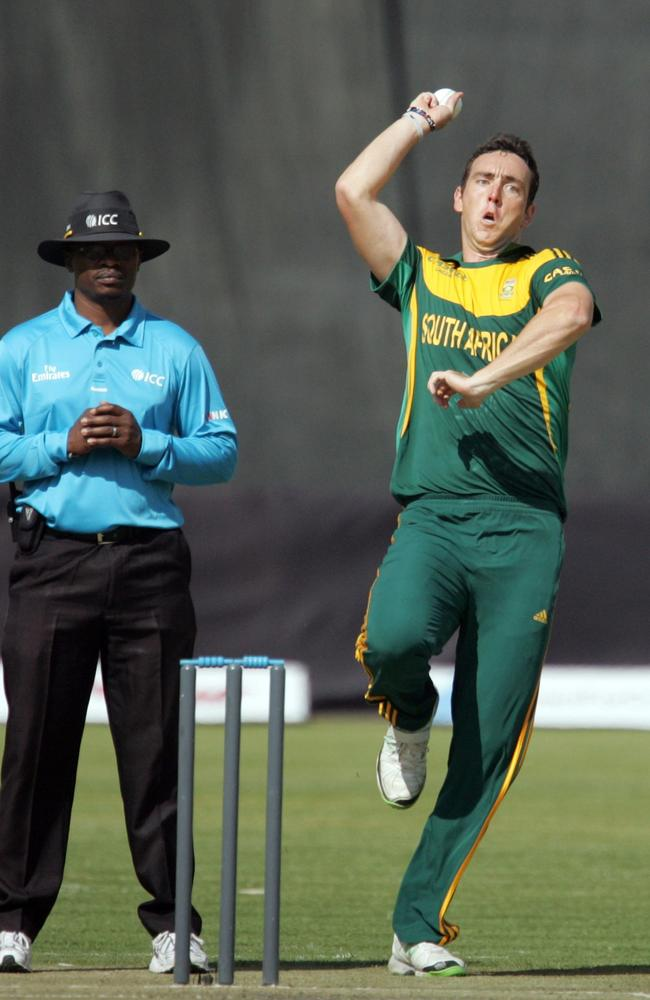 Kyle Abbott has already played three one-dayers in Zimbabwe this month.