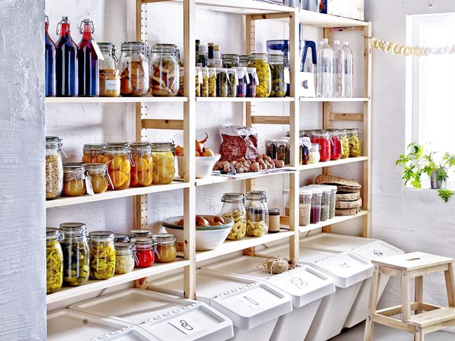 Rethink your food storage, buy in bulk and throw out expired items.