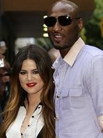 On the set of Keeping Up With The Kardashians: Khloe Kardashian and Lamar Odom were married just one month after meeting and exchanged vows in front of the cameras in 2009. Four years later the pair have split amid rumours of Odom's drug abuse. Picture: News Limited