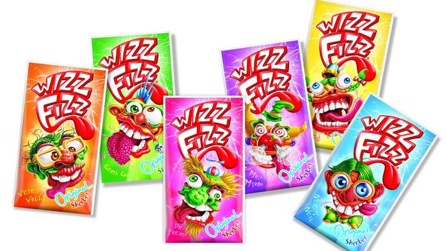 The ultimate challenge: spooning Wizz Fizz into your mouth without getting any on your clothes.