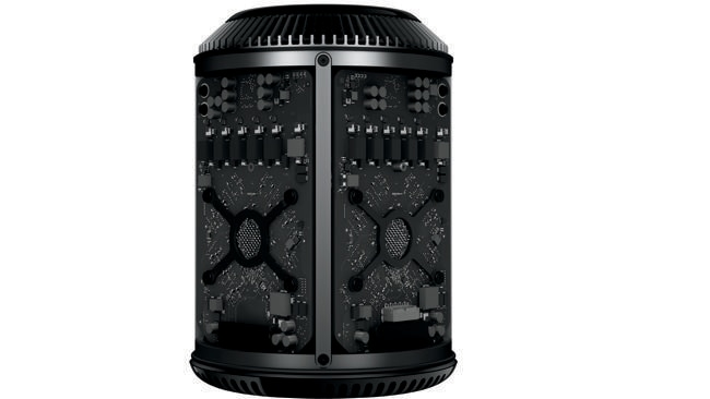 At the core of this Apple. The unique thermal core structure is the key to the Mac Pro's shape and power.