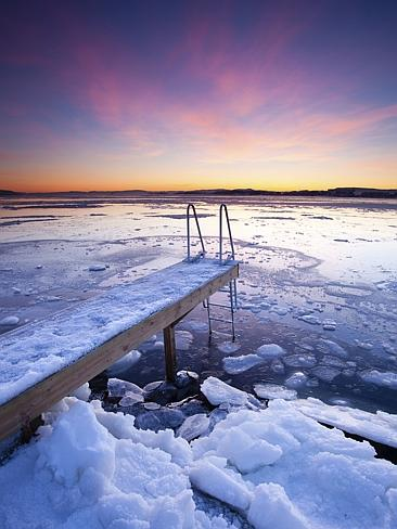 Water, water everywhere. Plus ice, of course. Picture: Thinkstock