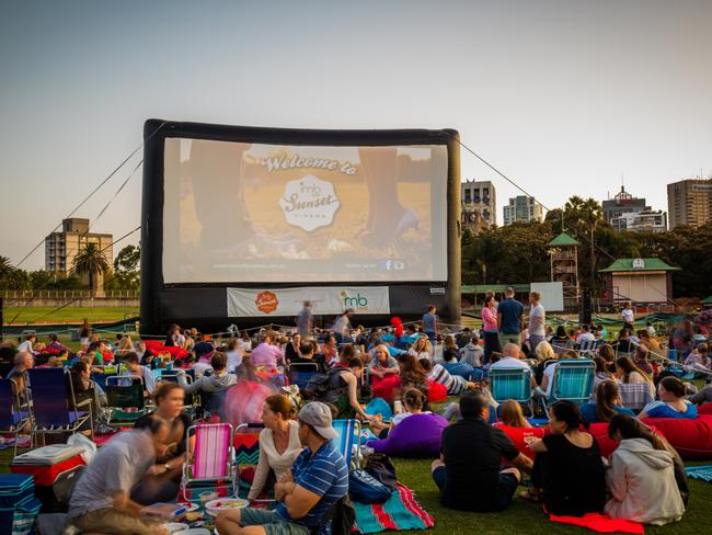 Enjoy a night out at the Sunset Cinema in North Sydney.
