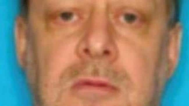 Las Vegas shooter Stephen Paddock. Picture: Supplied/ LVMPD Twitter.