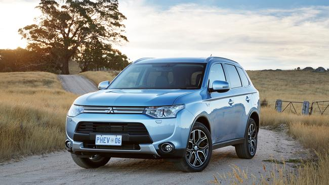 Drivers lose out ... the Mitsubishi Outlander PHEV used more fuel than claimed.