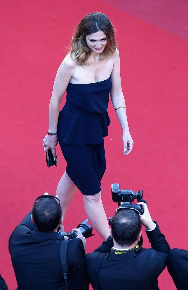 Julie Gayet in all her bombshell glory.