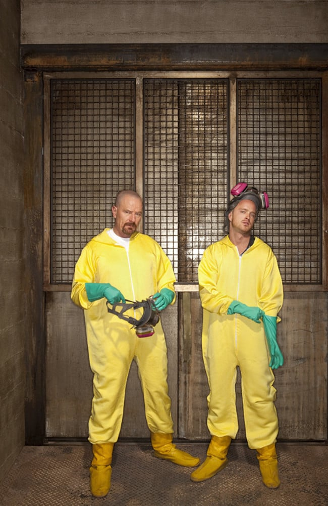 Sydney boy Steven Spaliviero carried out a real life version of the TV series Breaking Bad (above), on a massive scale.