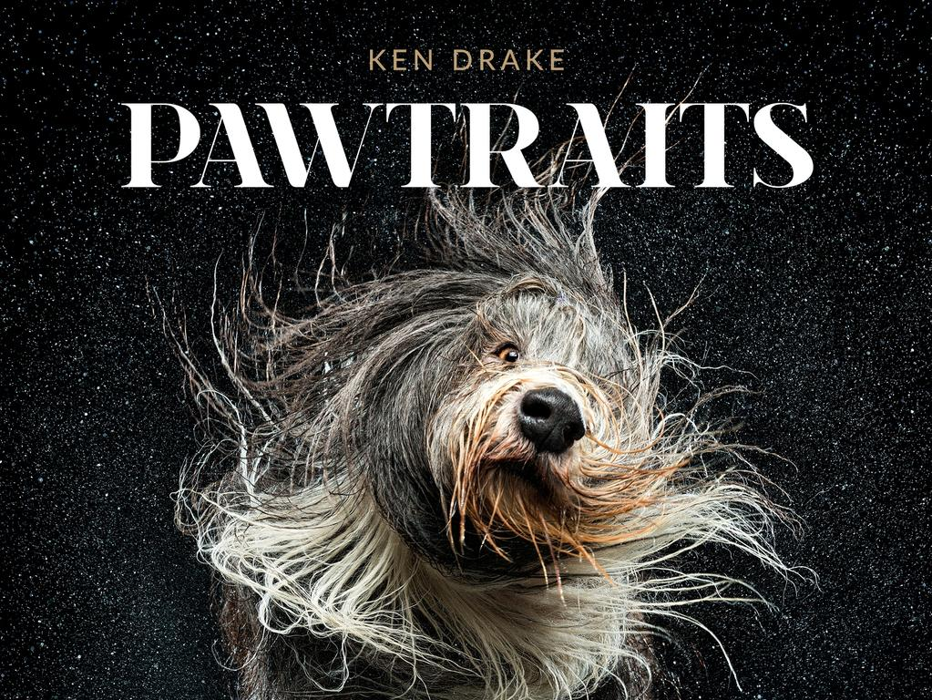 "Cover of ""Pawtraits"" a new book by Queensland photographer Ken Drake, published by New Holland."
