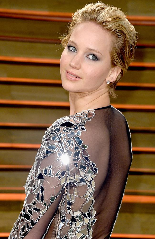 Jennifer Lawrence attends the 2014 Vanity Fair Oscar Party. (Photo by Pascal Le Segretain/Getty Images)
