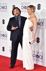 Jack Black, left, and Kate Hudson arrive at the People's Choice Awards at the Microsoft Theater on Wednesday, Jan. 6, 2016, in Los Angeles. (Photo by Jordan Strauss/Invision/AP)