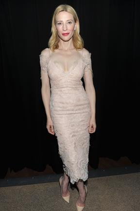 Cate Blanchett attends the Gala Tribute To Cate Blanchett during the 51st New York Film Festival at Alice Tully Hall at Lincoln Centre on October 2, 2013 in New York City. Picture: Getty