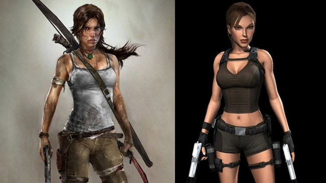 "Lara returns as a battered and bruised ""victim"" in the latest game. Picture: Kotaku"