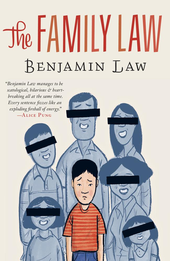 Critical acclaim ... Benjamin Law's first novel The Family Law, which is being adapted into a television series, was a huge hit. Picture: Supplied