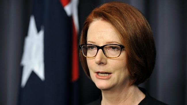 Kevin Rudd needs to move away from the gender warfare, sparked by the country's first female prime minister. Picture: AFP