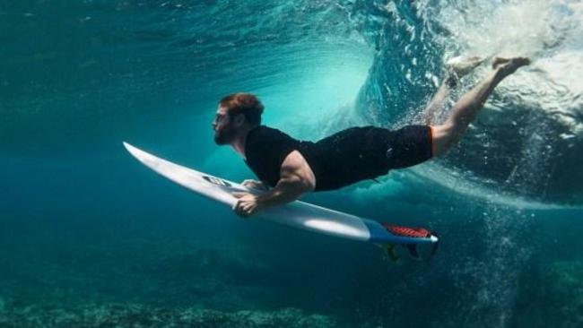 Chris Hemsworth is, ahem, on board. Picture: Corona/Parley