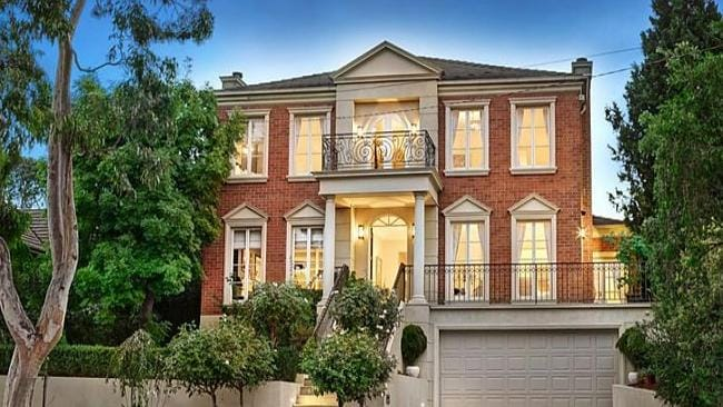 SOLD a few minutes after auction, 116 Hill Road, Balwyn North, Victoria. Picture: realestate.com.au