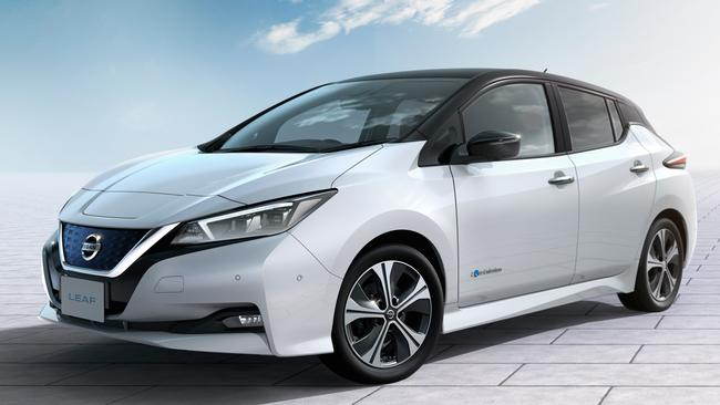 The Nissan Leaf, the world's best-selling EV, will soon return to local roads. Pic: Supplied.