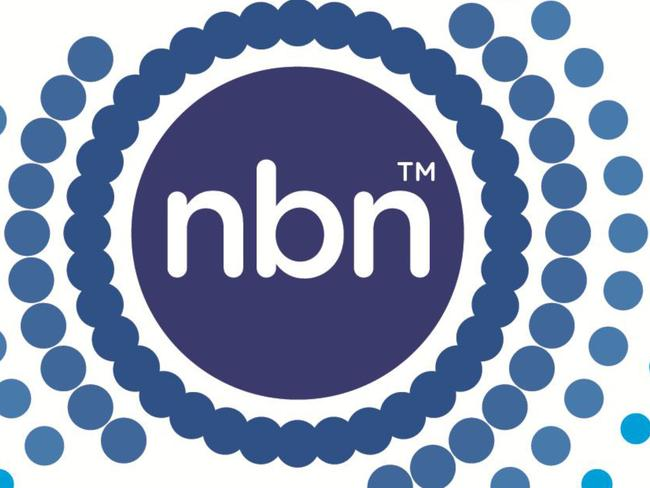 """New nbn logo, part of a $700,000 rebranding that drops the """"co"""" from the broadband network's name"""