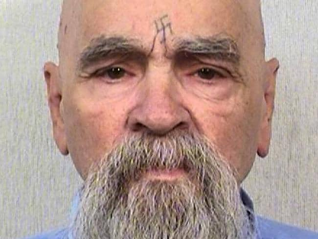 Charles Manson was hospitalised on the 3rd of January 2017. Picture: AP