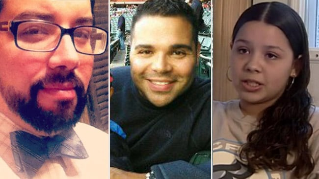 Relatives of Ariel Castro from left, son Anthony, cousin Eddie and daughter Arlene. Photos: Supplied, Facebook