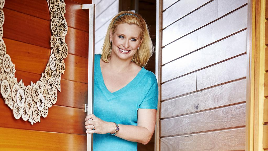 Johanna griggs opens her home for the first time to talk for Better homes and gardens australia episodes