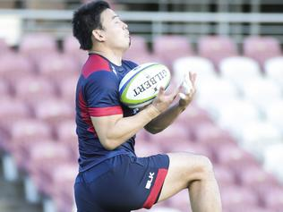 Reds training..Japan's Ayumu Goromaru arrives