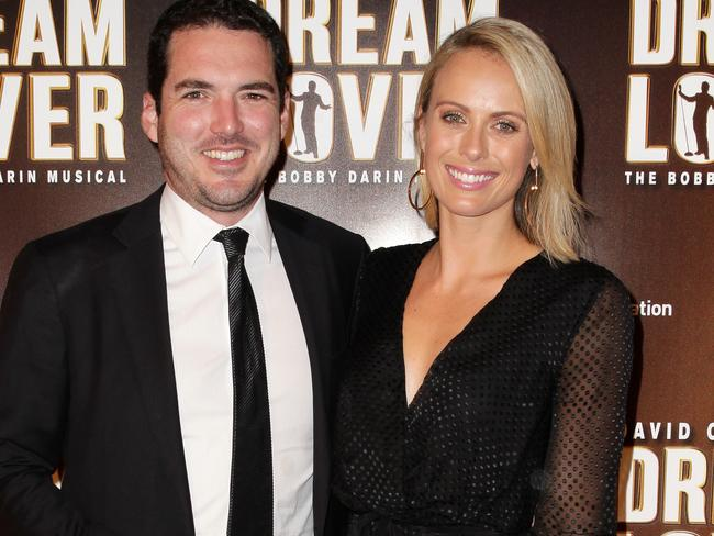 Peter Stefanovic and Sylvia Jeffreys. Sylvia could be one of the people Nine is considering to fill in Lisa Wilkinson's role. However that would leave her working even more closely with her brother-in-law. Picture: Christian Gilles