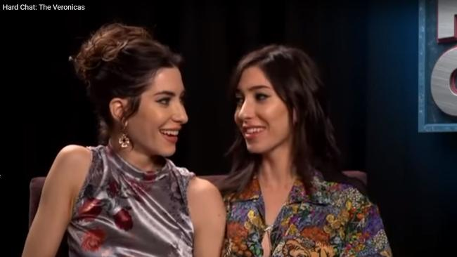 The Veronicas on Hard Chat with Tom Gleeson.