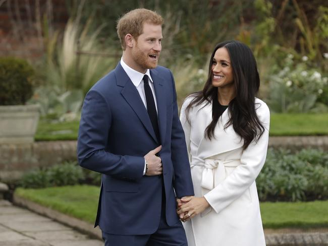 The couple plan to marry in the British spring of 2018. Picture: AP/Matt Dunham