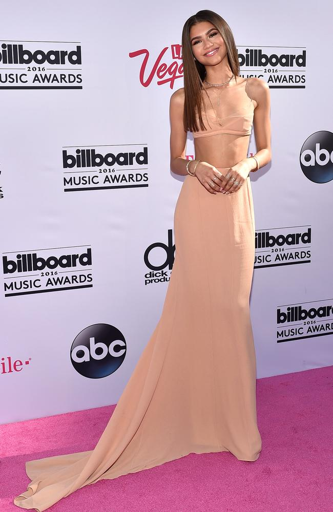 Actress/recording artist Zendaya attends the 2016 Billboard Music Awards at T-Mobile Arena on May 22, 2016 in Las Vegas, Nevada. (Photo by David Becker/Getty Images)